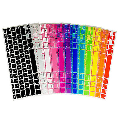 Soft Silicone Keyboard Cover For Apple Macbook 13 15 17 US Version Laptop • 2.10£