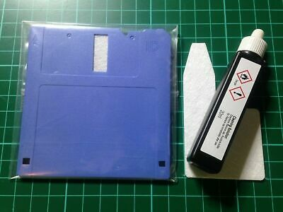 NEW Atari Amiga 3.5  Floppy Disc Drive Head Cleaning Kit (disk Drive Cleaner) • 25£