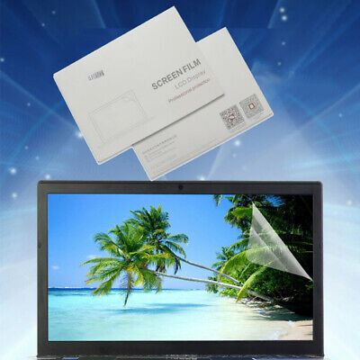 UK 2PCS Film Screen Protector Thin Clear For Notebook Laptop 14  Anti-radiation • 3.78£