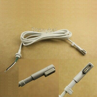 DC Power MagSafe1 Cable Repair Mend Cord L-Tip For Apple Macbook Air 45W 60W 85 • 5.99£