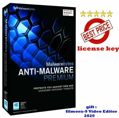 Malwarebytes Anti-malware Premium⭐ 2021⭐For Windows ✔️ Lifetime .🔑 • 9.99£