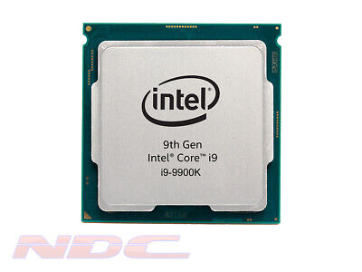 NEW Intel I9-9900K 3.6GHz Unlocked CPU/Processor SRG19 With 3 Year Warranty OEM • 289.99£