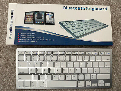 Bluetooth Keyboard For Mobile Devices / Ipads / Smart Phones / Tablets Etc • 9.99£