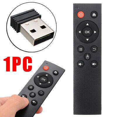 Black 2.4G Wireless Remote Control Keyboard Air Mouse For Android TV Box UK Oi • 6.31£