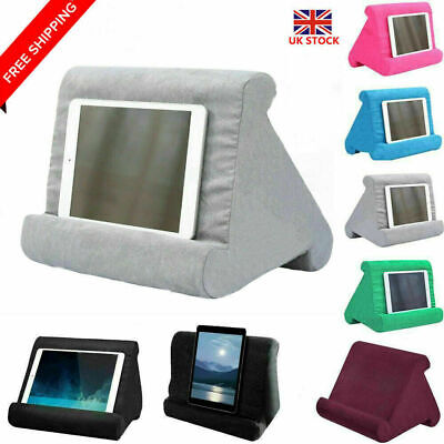 Multi-Angle Laptop Holder For Ipads Pillow Tablet Bed Foam Soft Stand Cushion UK • 8.99£
