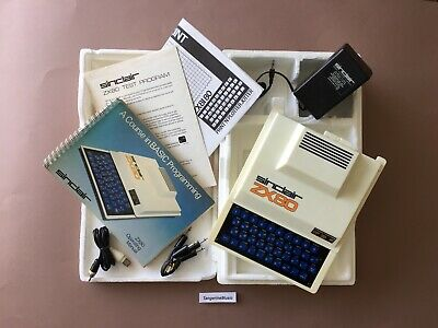 Sinclair ZX80 Computer - Excellent Example, Boxed • 745£