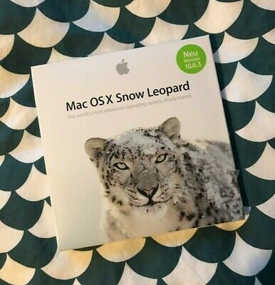 Mac OS X Snow Leopard 10.6 Installation Kit  • 3.30£