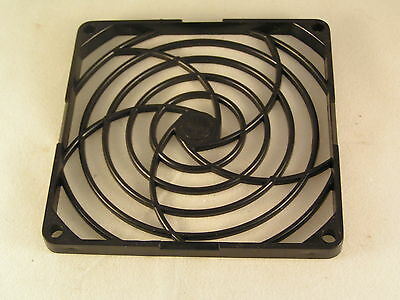 Fan Grill Finger Guard 92mm Black ABS Computer Use Etc 2 Pieces OL0376 • 4£