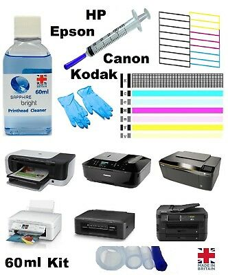 Printer Nozzle Unblocker For Canon HP Kodak Epson Print Head Print Head Cleaner • 6.98£