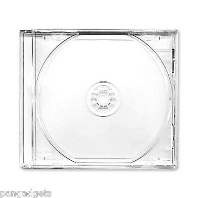 1 X CD Double Jewel Cases With Clear Tray • 1.99£