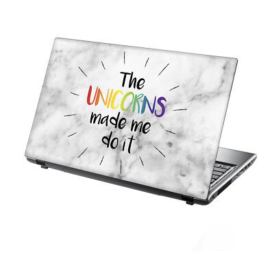 15.6  TaylorHe Laptop Vinyl Skin Sticker Decal Protection Cover Unicorn 2246 • 8.95£