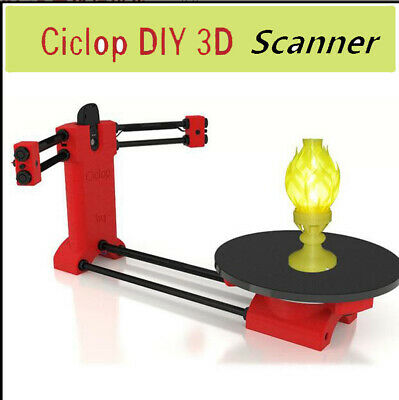 Ciclop Scanner Open Source DIY 3D Object Scaning Kit For Reprap Printer Scan • 128£