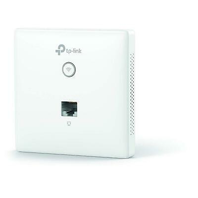 TP-LINK Omada EAP115-Wall 300Mbps Wireless N Wall-Plate Access Point • 34.99£