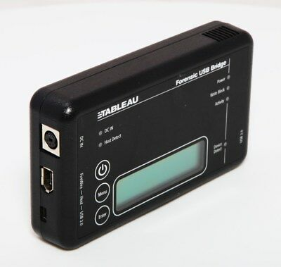 Used TABLEAU T8-R2 Forensic USB Bridge NO Power Supply, Fully Tested & Working • 153.49£