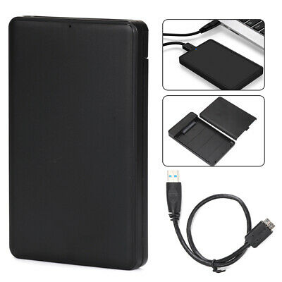 USB 3.0 2.5 Inch Hard Drive Enclosure SATA HDD/SSD Caddy Case For LAPTOP PC • 6.69£
