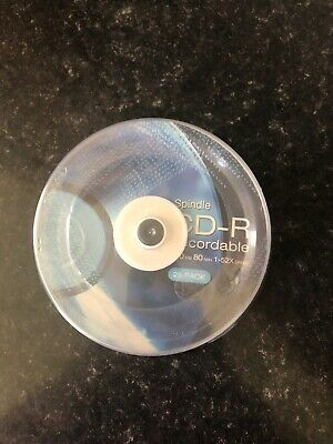 25 Disc Spindle CD-R Discs • 10£