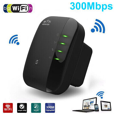 Wifi Signal Range Booster Repeater Wireless Router Network Extender UK Plug 2.4G • 10.99£
