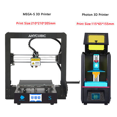 ANYCUBIC LCD Photon | MEGA-S 3D Printer TFT Large Printing Size High Precision • 269£