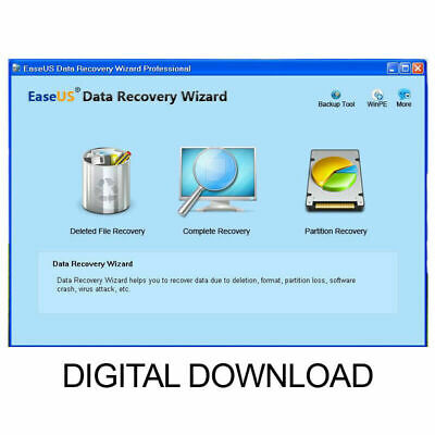 Professional Data Recovery Easeus Data Recovery Recover Deleted Files • 1.49£