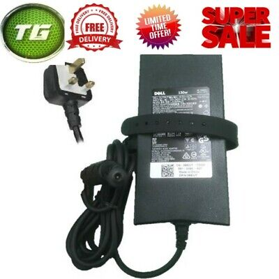 Genuine Dell Laptop Charger-ac Adapter Power Supply-130w 19.5v 6.7a-fast Post  • 13.99£