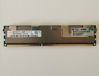 HP 8Gb 500205-071 PC3-10600R DDR3-1333MHz HPN 500205-071 • 6.50£