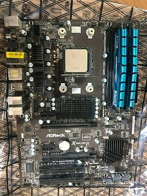 AMD Fx 6300 Motherboard With Asrock 970 Extreme3 R2.0 And Crucial Ballistix Ram • 32£