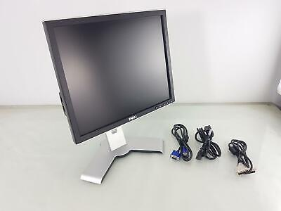 Dell 1708FPt 17 Inch VGA DVI-D 1280x1024 Monitor With Stand • 22.49£