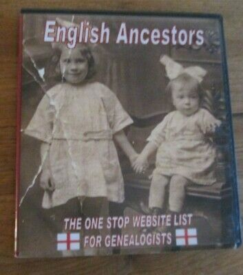 English Ancestors By One Stop Genealogy CD • 4.95£
