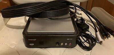 Hauppauge HD PVR 49001 LF REV F1 Gaming/ Video Capture Device & Cables, VGC • 20£