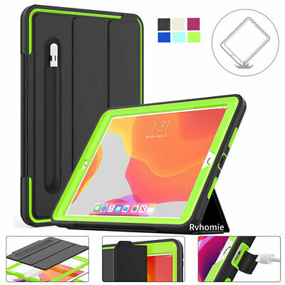 For IPad 10.2  2019 7th Generation Smart Shockproof Case Cover With Pen Holder • 12.49£