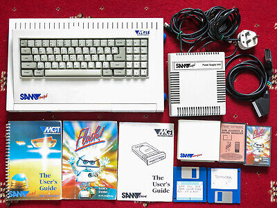 Sam Coupe Computer By MGT 512K ROM 3.0 Working + Extras • 675£