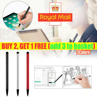 3 Color Stylus Touch Screen Pen For IPad IPod IPhone Samsung PC Cellphone Tablet • 2.39£