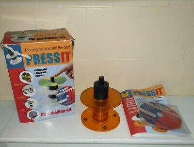 Pressit CD & DVD Labelling Kit Vintage Retro • 9.95£