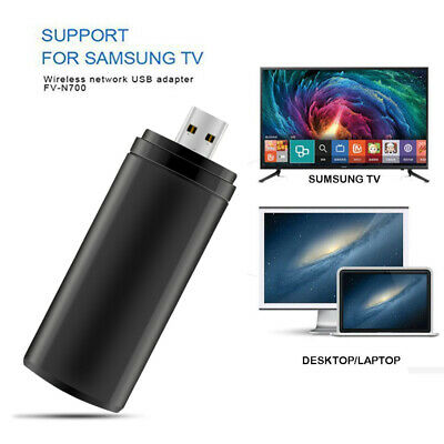 TV Wireless USB WIFI Adapter WiFi Dongle Dual Band 2.4/5GHz For Samsung PC Smart • 14.98£