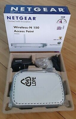 Netgear WN604 Wireless-N 150 Access Point • 15£
