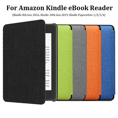 ~For Amazon Kindle Paperwhite 10th Gen 2019 6  E-Reader Leather Smart Case Cover • 6.60£