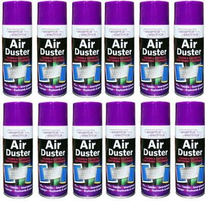 Air Duster 400ml Large Bottle Essential Electrical Air Duster Spray  • 6.99£