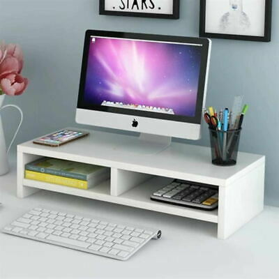 DIY Computer Desktop Monitor Stand Laptop Display Screen Riser Shelf Home Office • 9.89£
