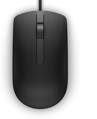 Dell MS116-BK Optical Mouse - Black • 5£