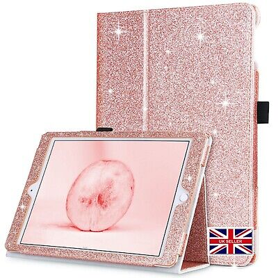 Glitter Bling Stand Case Cover For IPad Mini Air Pro 9.7  6th 7th Gen 10.2  2019 • 7.10£
