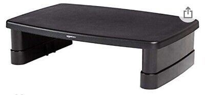 AmazonBasics DHMSA Adjustable Monitor Stand - Black • 15£