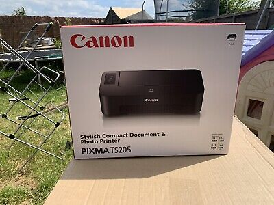CANON PIXMA TS205 Inkjet Printer .BRAND NEW AND SEALED WITH INKS . • 39.99£