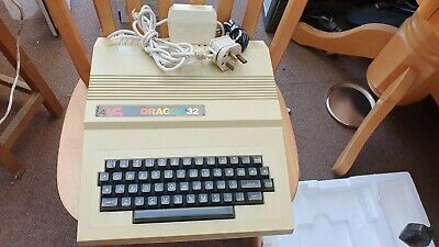Dragon 32 Retro Vintage Computer Boxed. Untested, Unsure If Working • 41£