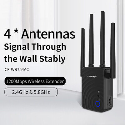 2020 Wifi Signal Range Booster Repeater Wireless Router Network Extender 200M UK • 17.99£