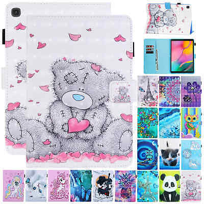 For Samsung Galaxy Tab A 10.1 T510 T515 2019 Case Leather Flip Card Slot Cover • 8.99£