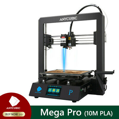 Anycubic Mega Pro 2-in-1 3D Printer Laser Engrave Quiet Drive Auxiliary Leveling • 258.99£