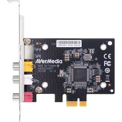 NEW AVermedia CE310B SD PCIe Frame Grabber With Composite / S-Video Interfacing • 129.98£