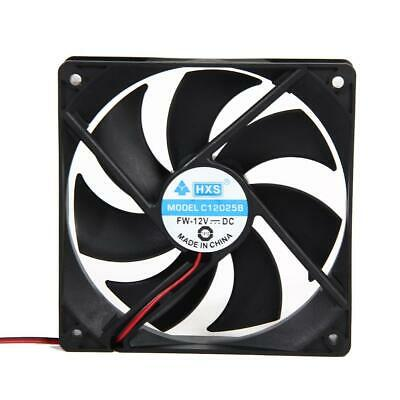 30/40/50/60/70/80/120mm DC 12V 2/3/4Pin Mini Cooler Cooling Fan For PC Computer • 6.42£