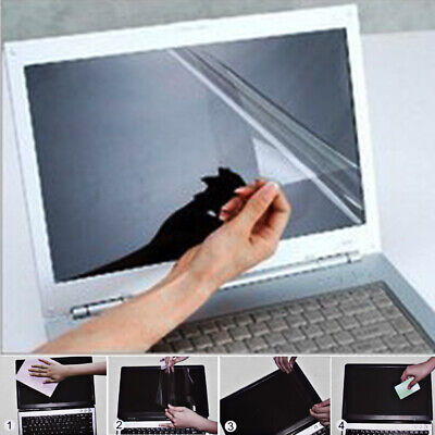 UK Laptop Computer Transparent 13.3 Inch LCD Monitor Screen Protector 16:9 • 5.25£