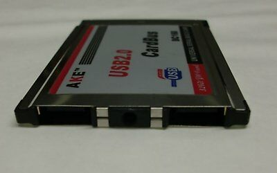 2port Pcmcia USB 2.0 -stands Not Overvoltage Protection #e824 • 9.58£